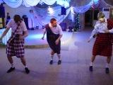 Новогодний танец на корпоративе 2011