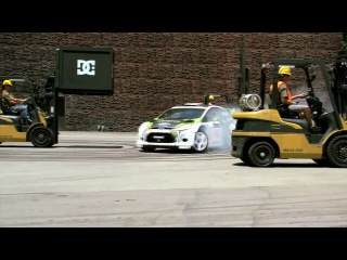 KEN BLOCK'S (GYMKHANA FOUR)( THE HOLLYWOOD MEGAMERCIAL) | ��� ���� (�������� 4)